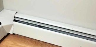 Cleaning Baseboard heaters