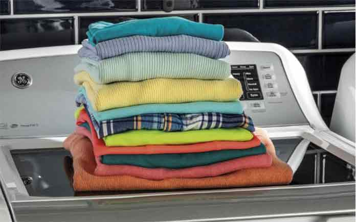 GE High-Efficiency Top Loading Washing Machine