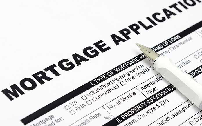 Mortgage application for home finance