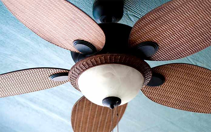 Paddle ceiling fan