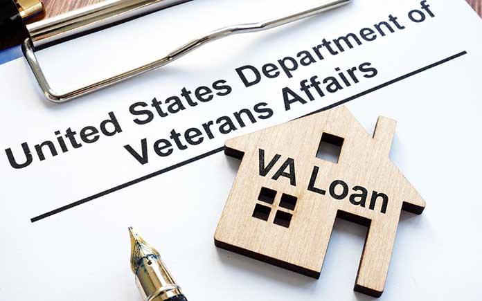 VA loan application for home finance