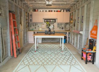 Chelsea Lipford Wolf's workshop after makeover