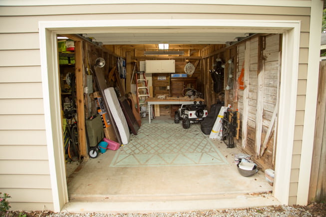 Before Chelsea Lipford Wolf's garage became her workshop