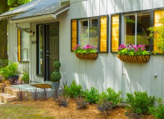 Modern rustic home with curb appeal makeover