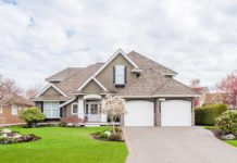 Large beautiful home with two-car garage