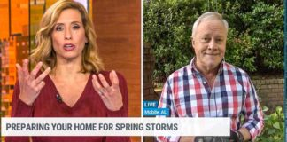 Stephanie Abrams interviews Danny Lipford of Today's Homeowner on AMHQ on The Weather Channel
