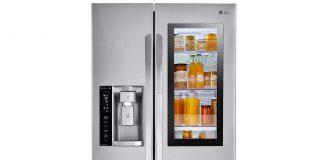LG InstaView smart refrigerator