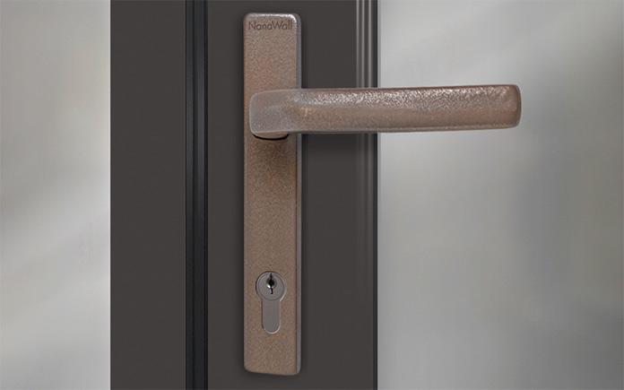 NanaWall opening glass wall door handle