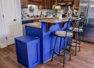 Qualls family's customized kitchen