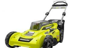 Ryobi brushless motor lawnmower