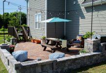 Backyard Paradise, featuring Pavestone patio, in Hurricane, West Virginia