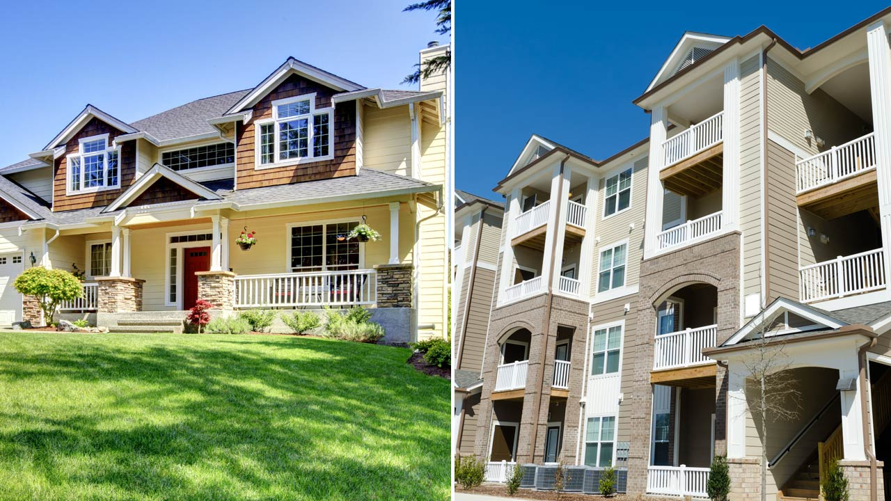 Study: As American Homes Get Bigger, Apartments Shrink