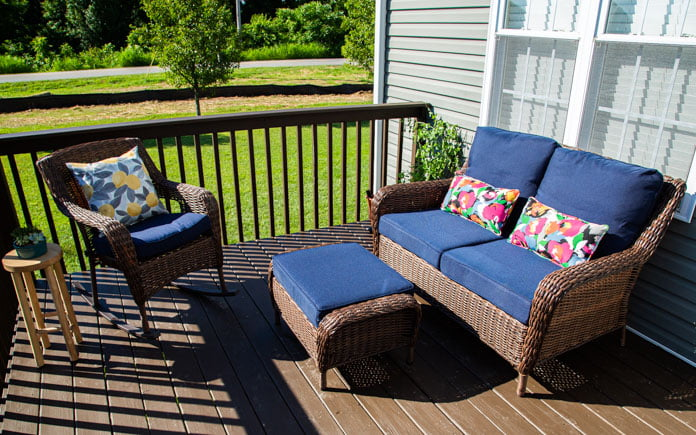 Beautiful wicker outdoor furniture in Hurricane, West Virginia