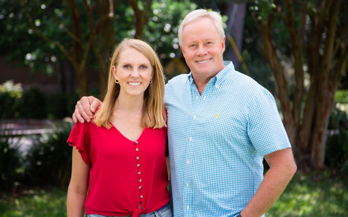 """""""Today's Homeowner"""" hosts Danny Lipford and Chelsea Lipford Wolf"""