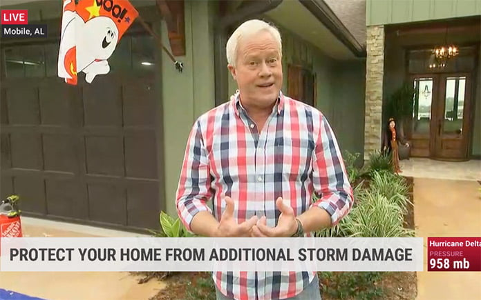 Danny Lipford shares hurricane cleanup tips on The Weather Channel