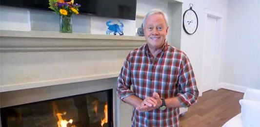 Danny Lipford talks about fireplace safety on The Weather Channel