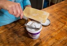Jodi Marks demonstrates Simple Grout by Custom Building Products on Today's Homeowner