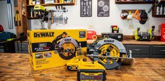 DeWalt's newest cordless circular saw