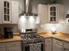 Kitchen renovation with a new Broan-NuTone range hood