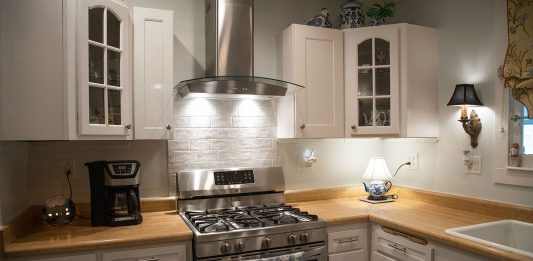 Kitchen renovation with a new Broan-NuTone range hood