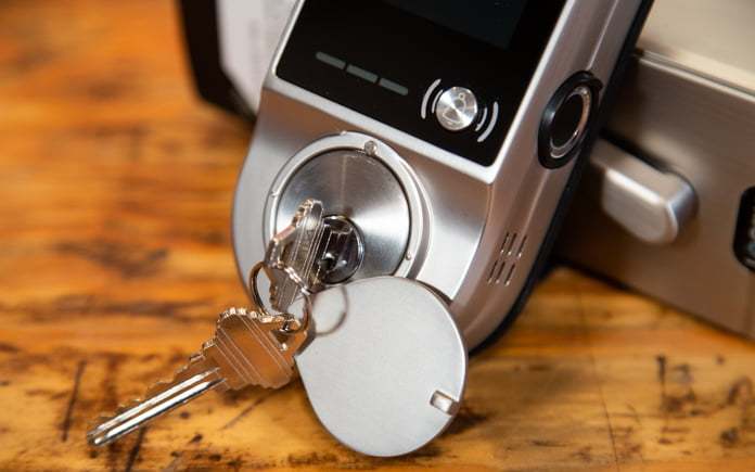 Lockly's home security deadbolt uses new technology to make homes safer and smarter.