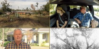 """""""Today's Homeowner"""" hosts Danny Lipford and Chelsea Lipford Wolf ride through Marianna, Florida and look at Danny's childhood home"""