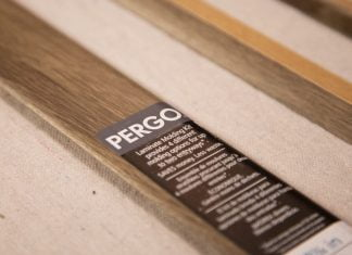 Pergo's 4-in-1 Laminate Molding Kit