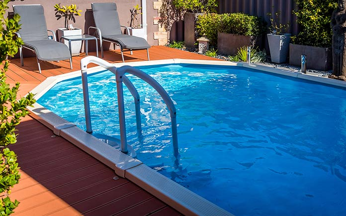 Above Ground Pools Ep 115, Best Composite Decking For Above Ground Pool