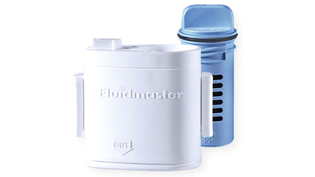 Fluidmaster's Flush 'N Sparkle Self-Cleaning Toilet System