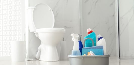 Toilet and cleaning products