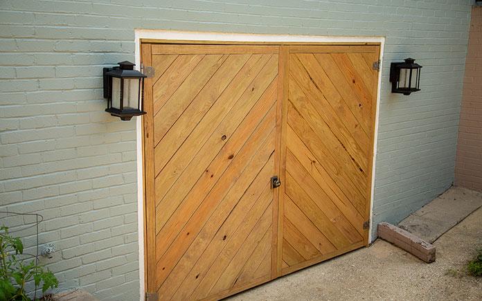 Chelsea's new garage doors