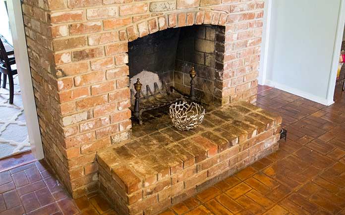 fireplace arch